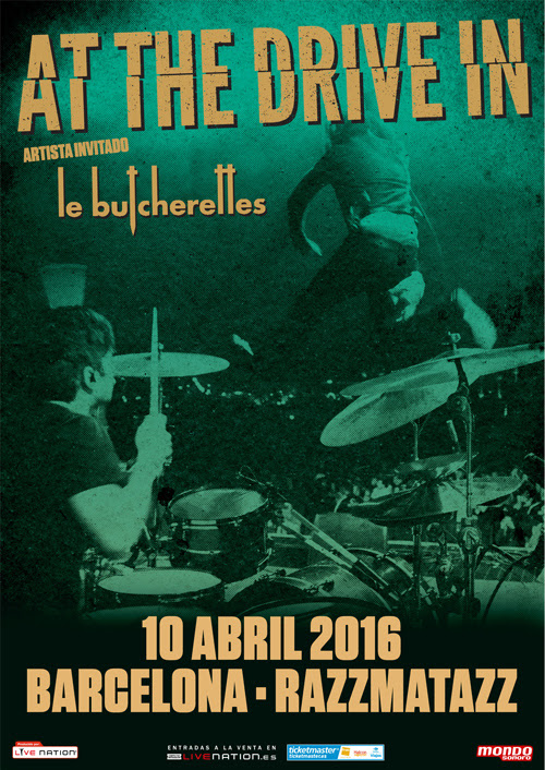 At The Drive-In Barcelona 2016