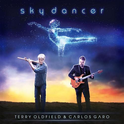 Portada de Sky Dancer, el disco de Terry Oldfield y Carlos Garo