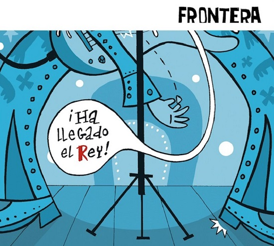 Portada de Ha Llegado El Rey de Frontera