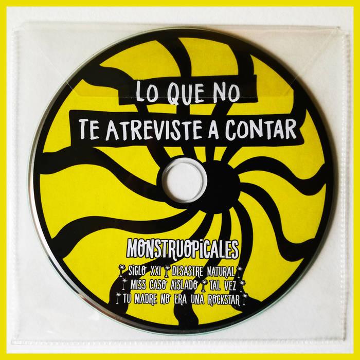 Portada del EP debut de Monstruopicales