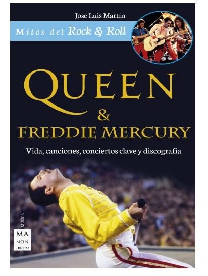Portada del libro sobre Queen de Ma Non Troppo