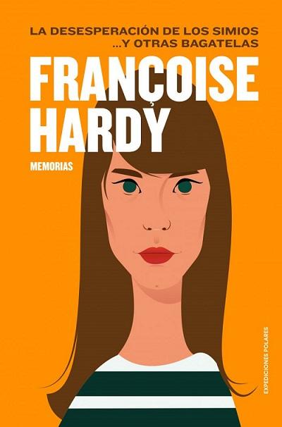 Portada de la autobiografía de Françoise Hardy