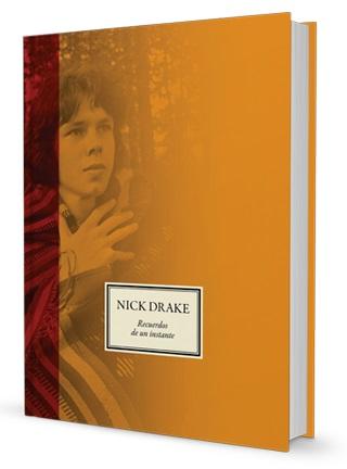 """Portada del libro """"Recuerdos de un instante"""" sobre Nick Drake"""
