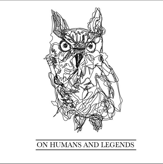 Portada de la primera demo de On Humans and Legends