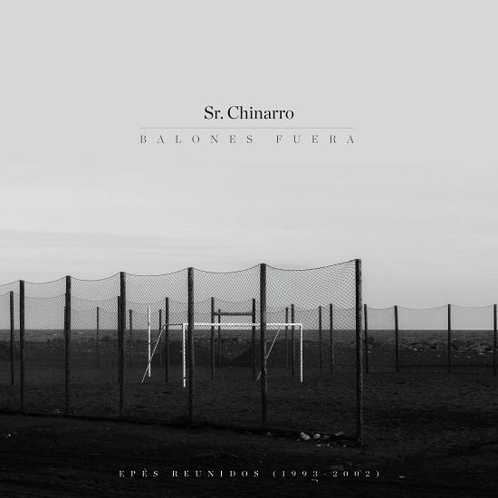 Portada de Balones Fuera, nuevo disco de Sr Chinarro