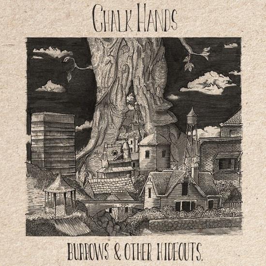 Portada del primer EP de Chalk Hands