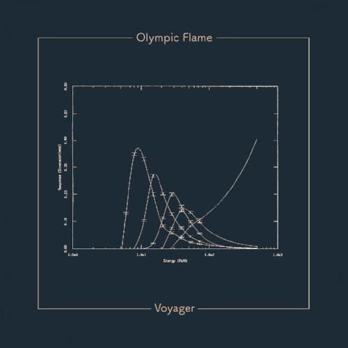 "Portada de ""Voyager"", último single de Olympic Flame"