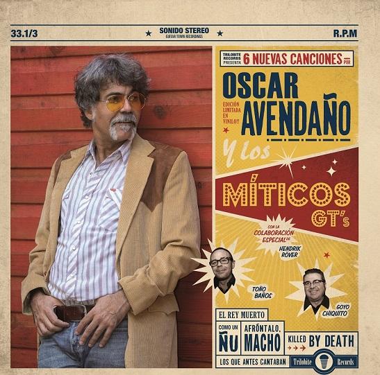 Portada del nuevo EP de Oscar Avendaño