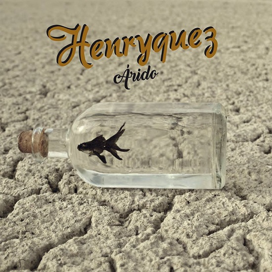 """Portada de """"Árido"""", el nuevo EP de Henryqyez"""