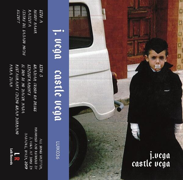 Portada de la edición en cassette del álbum de J. Vega