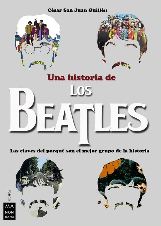 Portada del libro sobre los Beatles editado por Redbook Ediciones