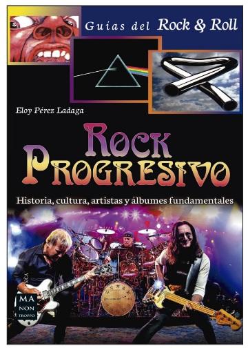Portada del libro Rock Progresivo, de Redbook Ediciones