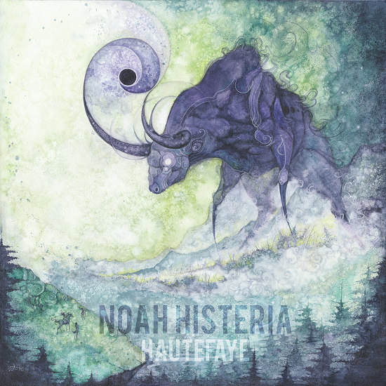 Portada del disco Hautefaye, de Noah Histeria