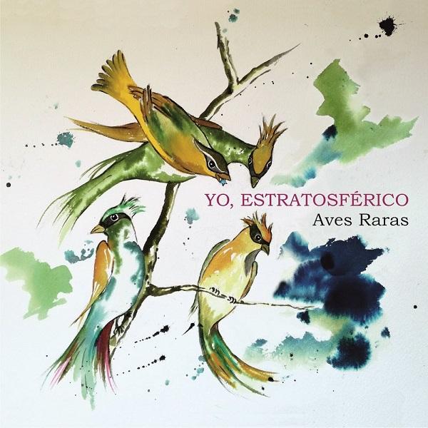 Portada del nuevo EP de Yo Estratosférico
