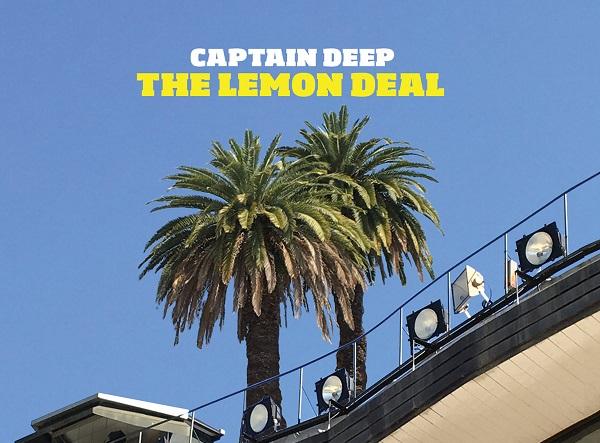 Portada de The Lemon Deal de la banda argentina Captain Deep