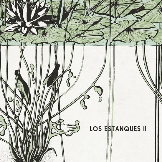 Portada de II, el nuevo disco de Los Estanques