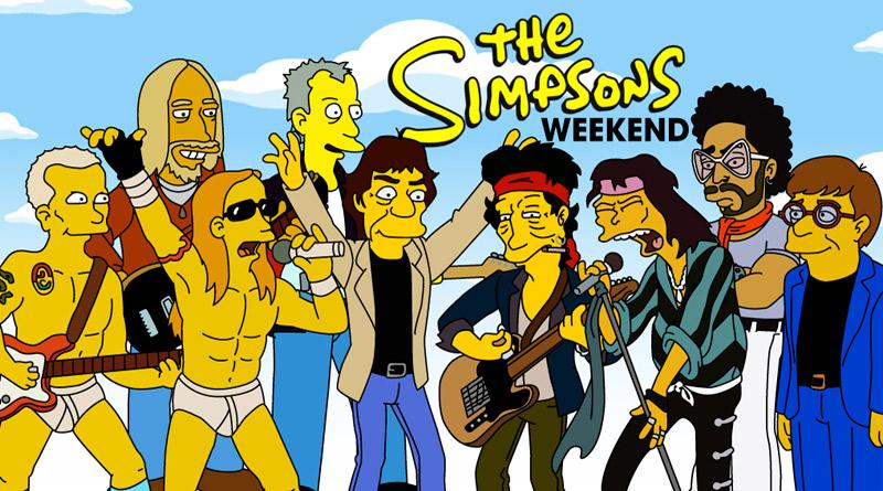 Los Simpson y el rock: combinación explosiva