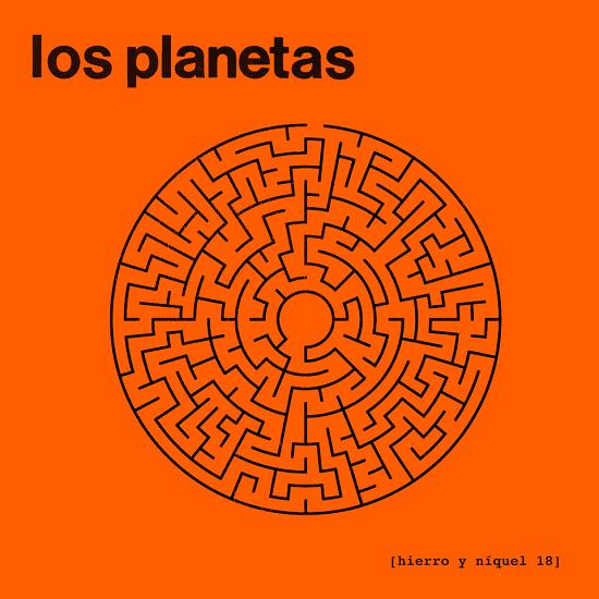Portada del nuevo single de Los Planetas