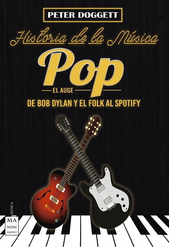 Portada de la segunda parte de Historia de la Música Pop