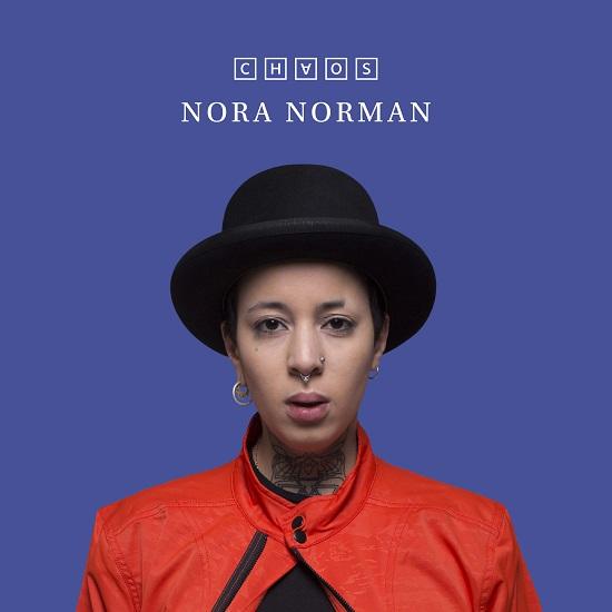 Portada de Chaos, primer LP de Nora Norman