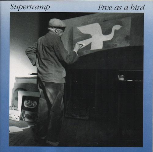Portada de Free as a Bird, de Supertramp
