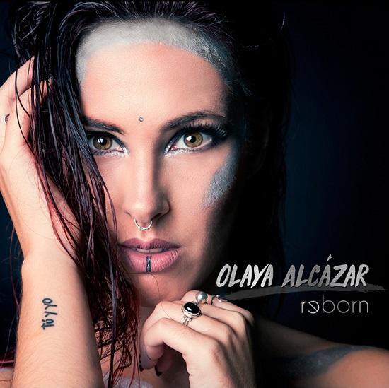 Portada de Reborn, segundo álbum de Olaya Alcázar