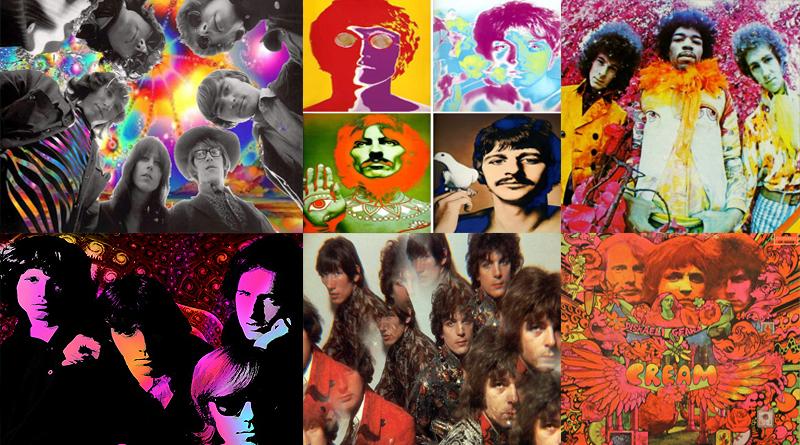 Las mejores canciones de rock psicodélico de 1966 a 1969