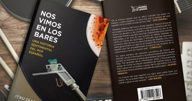 Itxu Díaz publica Nos Vimos en los Bares