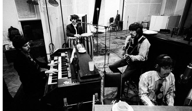 los Beatles en Abbey Road