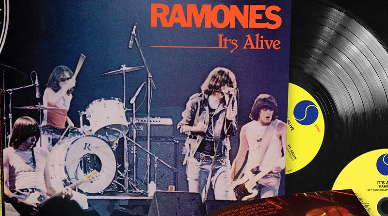 Ramones: 40 años de It's Alive, el directo más arrollador de la historia