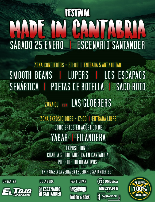 Cartel Made in Cantabria