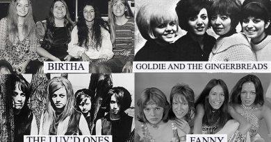 bandas de rock femeninas