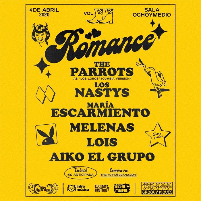 Romance 2020 cartel