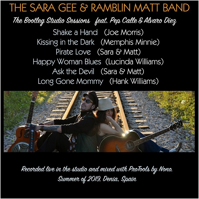 Sara Gee Ramblin' Matt Bootleg Back