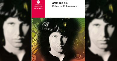 Libro: Ave Rock – Roberto Echavarren (Varasek Ediciones)