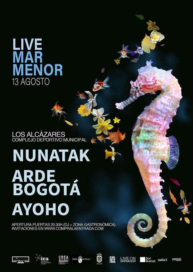 Live Mar Menor cartel