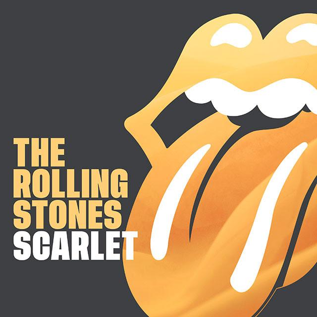 Rolling Stones Scarlet portada