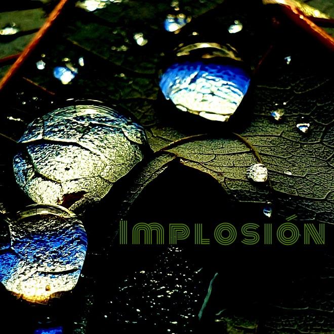 Juan Pacheco Implosión portada