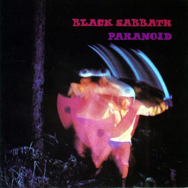 Black Sabbath Paranoid portada