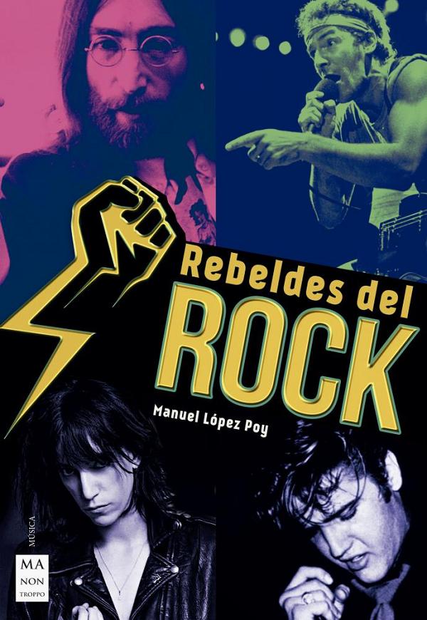 Redbook portada rebeldes del rock