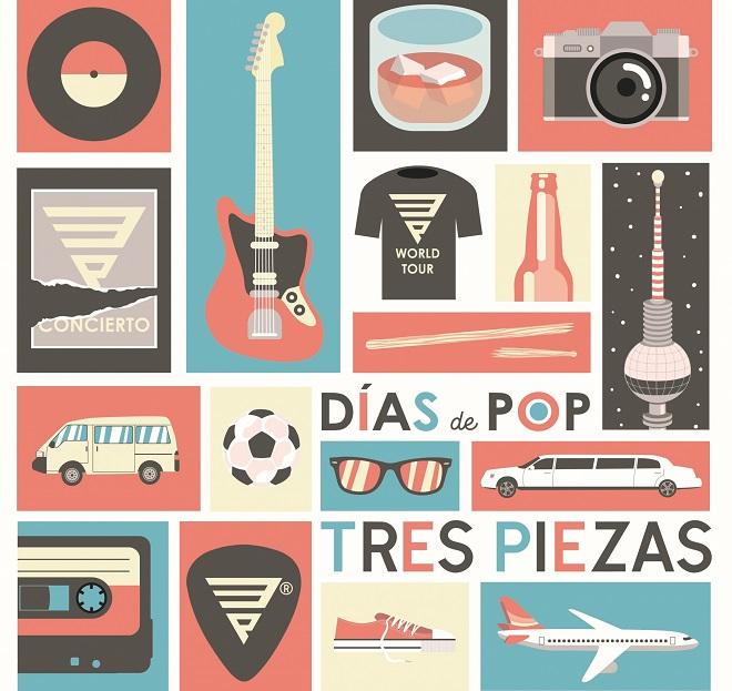 Tres Piezas portada Días de Pop