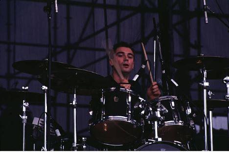 Justin durante aquel concierto en Lollapalooza