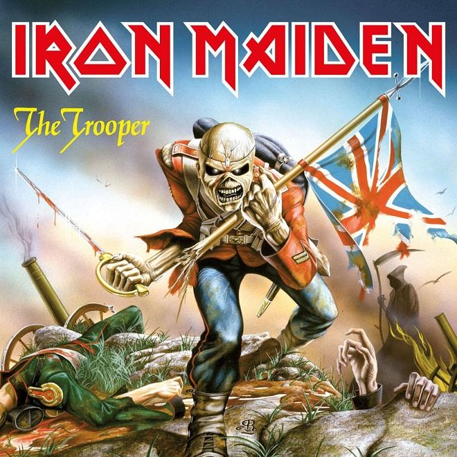 Iron Maiden trooper portada