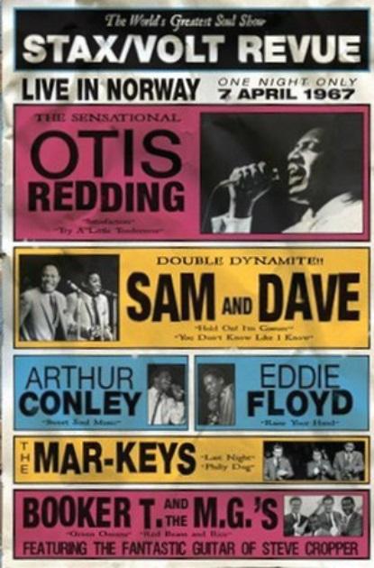 Otis Redding Stax Tour