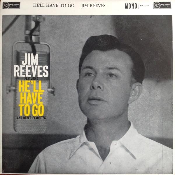 Jim Reeves single portada
