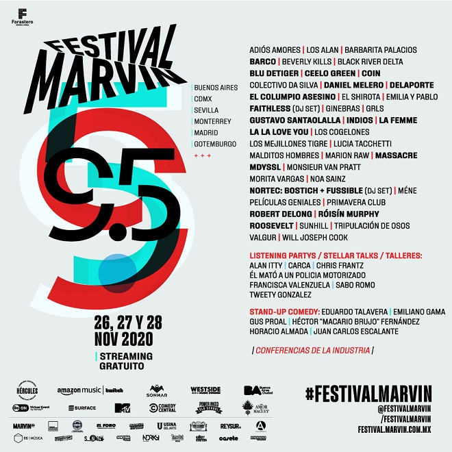 Festival Marvin 2020 cartel