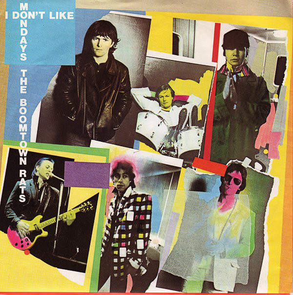 Boomtown Rats I don't like Mondays portada