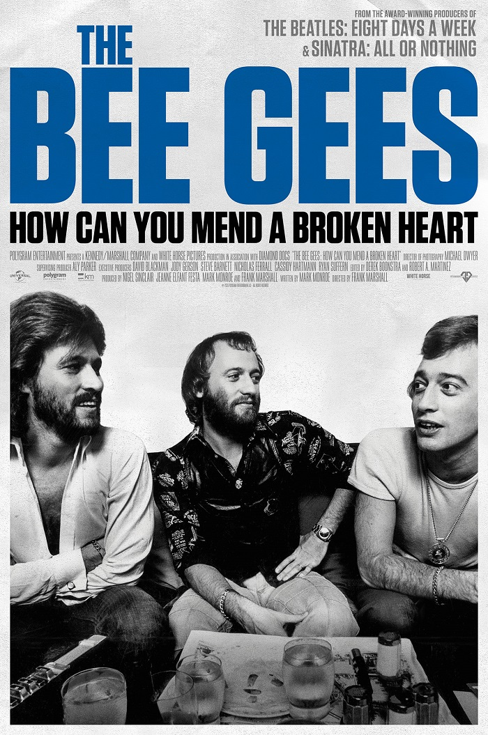 Bee Gees documental cartel