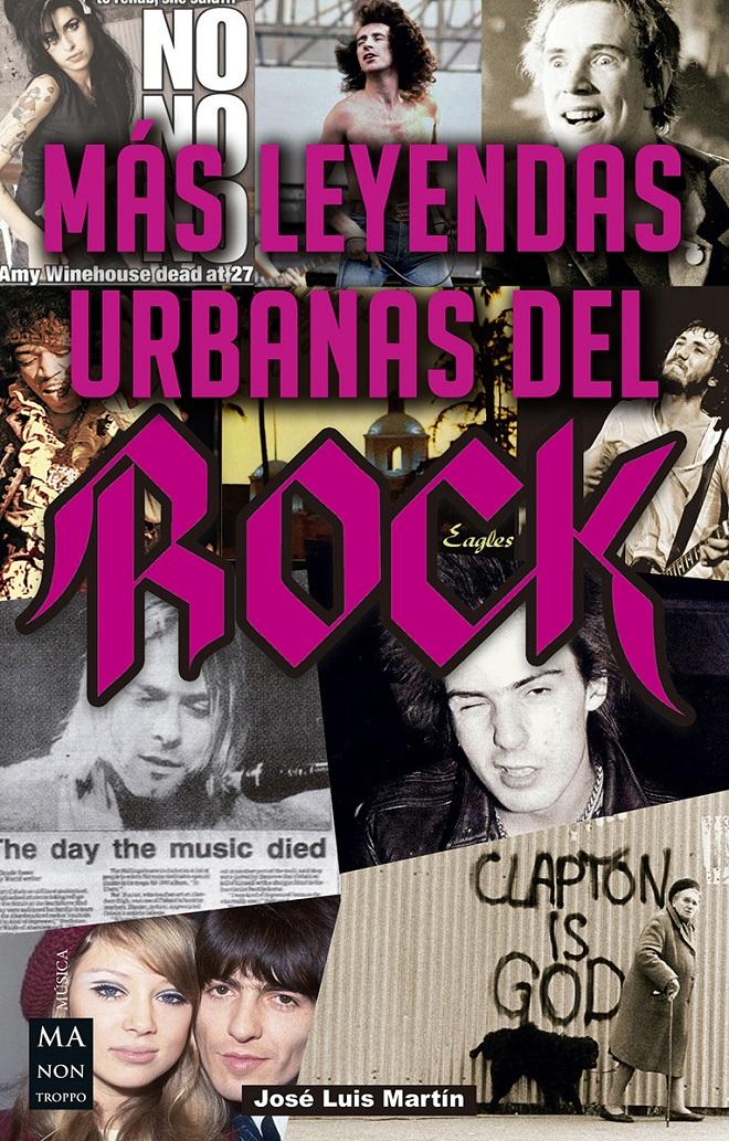 Más Leyendas Urbanas del Rock portada