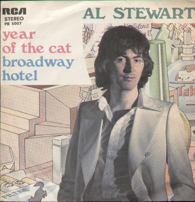 Al Stewart portada single